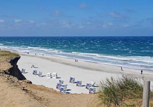 Ferienhaus Lissy-Mary auf Sylt - Impressionen Strand