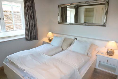 Ferienhaus Lissy-Mary auf Sylt - Schlafzimmer EG