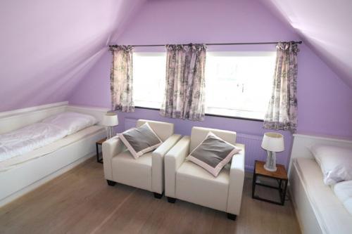 Ferienhaus Lissy-Mary auf Sylt - Schlafen OG