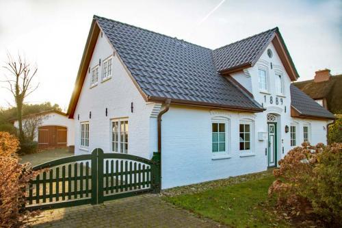 Ferienhaus Lissy-Mary auf Sylt - das Haus von vorn